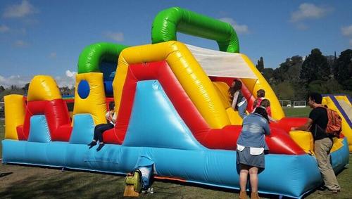 alquiler de inflables - carrera de obstáculos - zona oeste