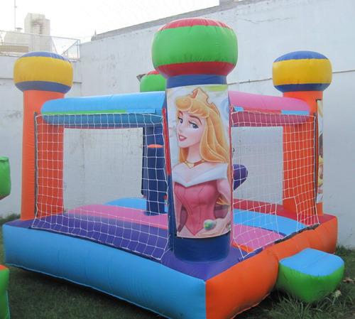 alquiler de inflables castillos coco princesa hombre araña