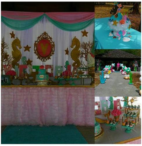 alquiler de inflables, mobiliario y material de festejo.