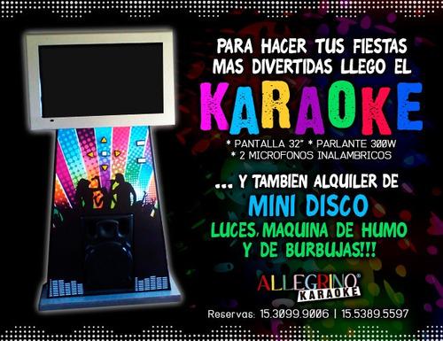 alquiler de inflables, toro, plaza blanda, karaoke!!!