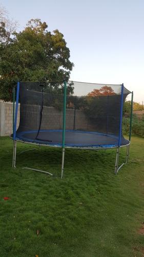 alquiler de inflables trampolin algodonera cotufera