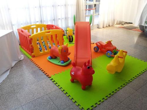 alquiler de inflables,metegol,plaza blanda,tejo,livings,toro