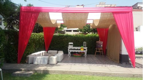alquiler de jardín para eventos