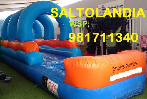 alquiler de juegos infantiles ,juegos inflables ws:981711340