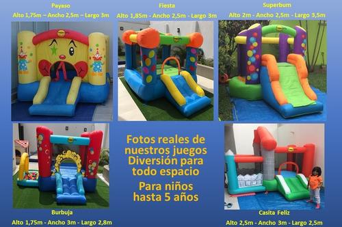 alquiler de juegos inflables para fiestas infantiles
