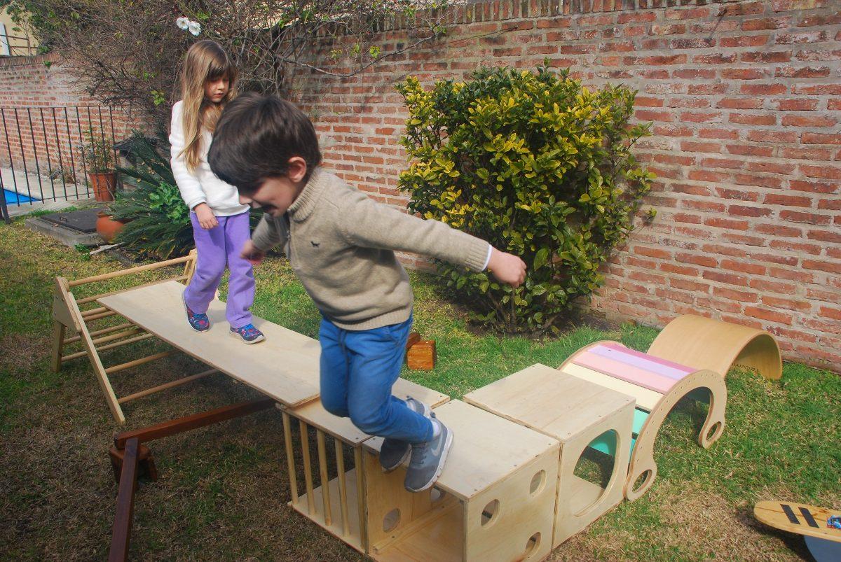 Alquiler De Juegos Montessori Waldorf Pikler Plaza Blanda En