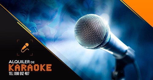alquiler de karaoke para tu fiesta.