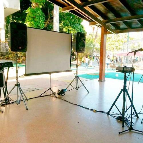 alquiler de karaoke, sonido, dj, en caracas. deluxe discplay