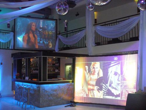 alquiler de karaoke/lcd 42 /pantallas/proyector 42929352