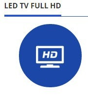 alquiler de led tv de 32  - 42  - 50
