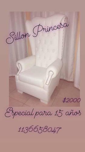 alquiler de  living 2 sillones simples+10 puff +1 mesa $900