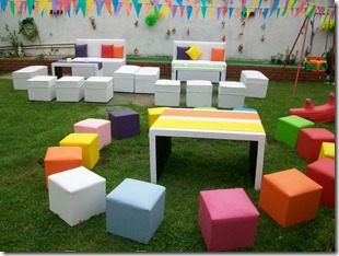 alquiler de living infantiles/adultos ,sillas,mesas,carpas