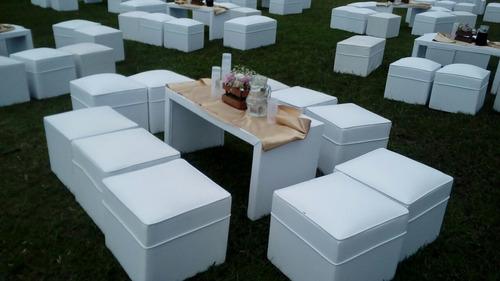 alquiler de living mesas y sillas en pilar y escobar