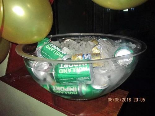 alquiler de living puff champagneras envios -10 puff x $500