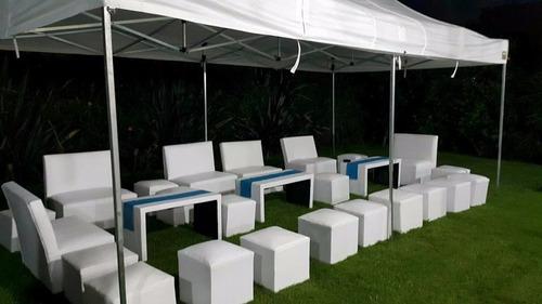 alquiler de living ,sillas,carpas,calefactores,zona sur