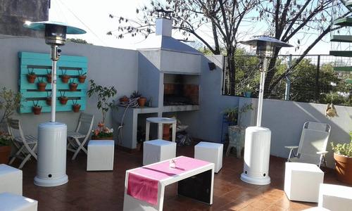 alquiler de living y estufas de exterior.