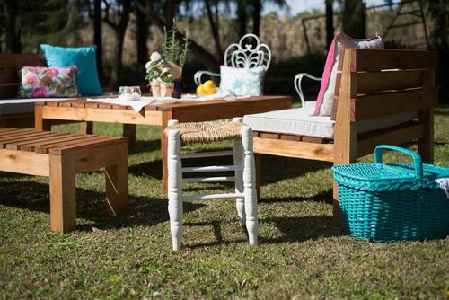 alquiler de livings - alquiler de mobiliario para eventos