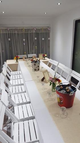 alquiler de livings puffs ,mesas,sillas,carpas gazebos