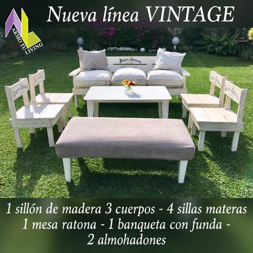alquiler de livings rusticos-vintage - san isidro-nordelta