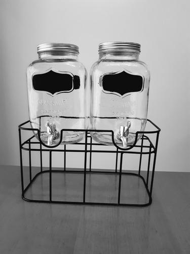 alquiler de livings y dispensers de bebidas para eventos