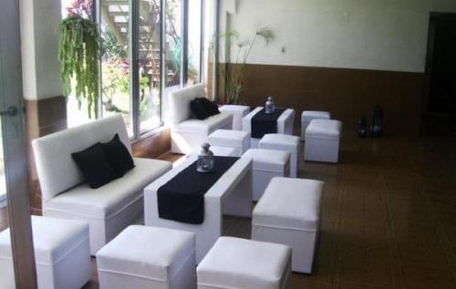 alquiler de living,sillas,mesas ,gazebos, zona sur,canning