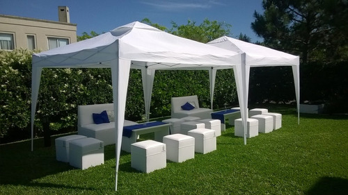 alquiler de livings,mini living,carpas gazebos,