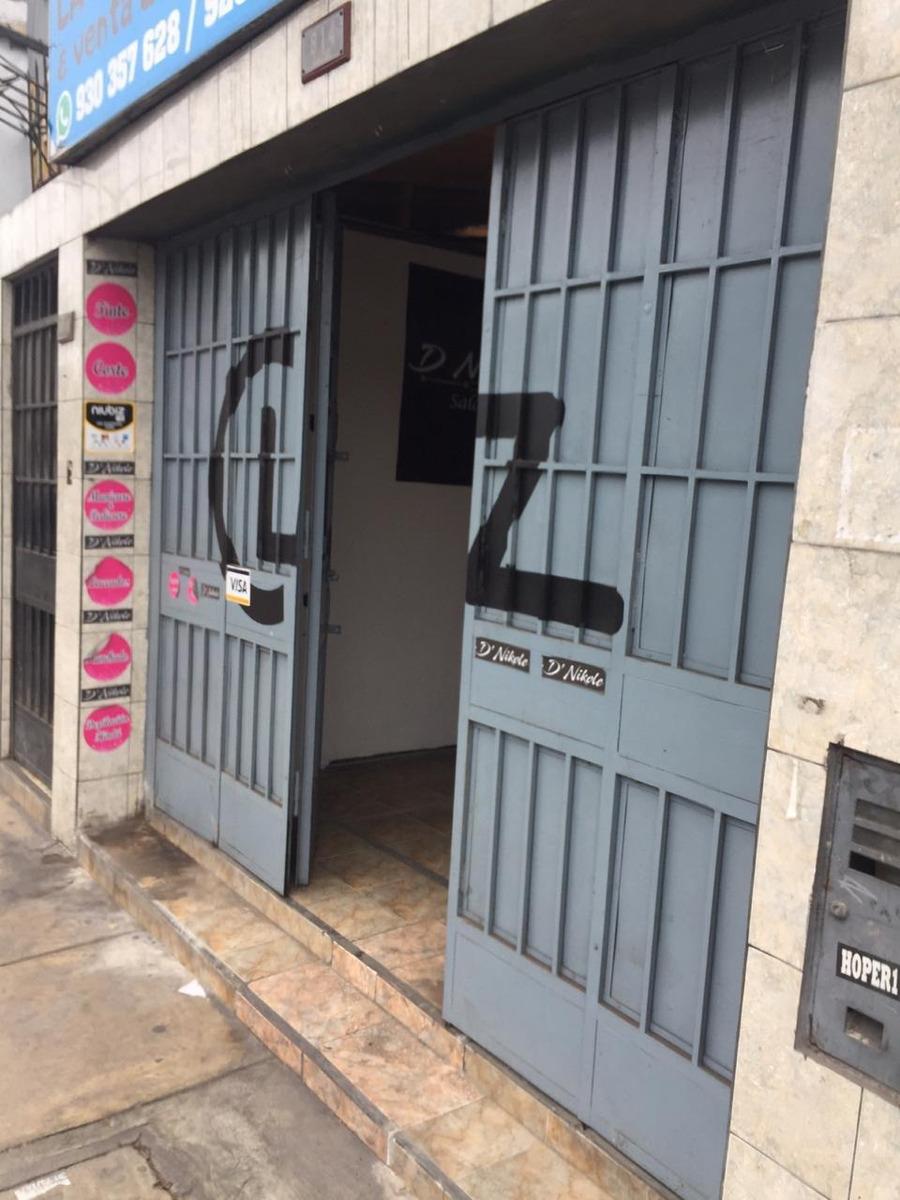 alquiler de local comercial en av sucre 814, pueblo libre