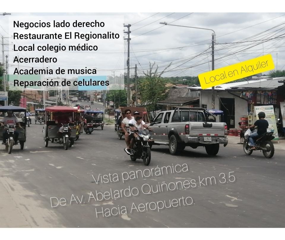 alquiler de local para empresas en iquitos