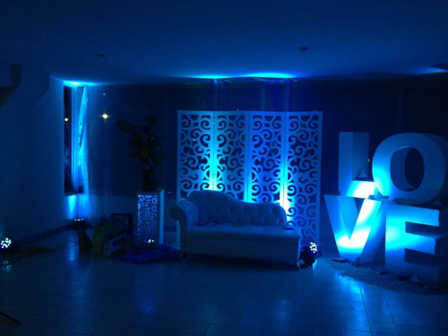 alquiler de luces led para decoracion