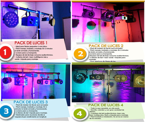 alquiler de luces parlantes sonido karaoke pantalla proyecto