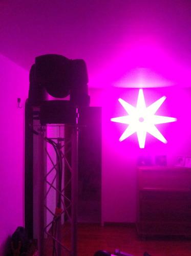 alquiler de luces roboticas martin y de led para eventos
