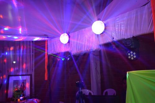 alquiler de luces, sonido, sillas, menaje, manteleria,forros