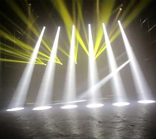 alquiler de luces tachos leds cabeza móvil