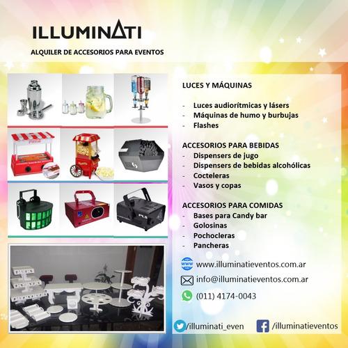 alquiler de luces y accesorios para fiestas