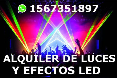 alquiler de luces y efectos. zona sur( whatsaap 1567351897)