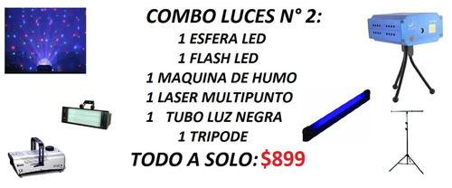alquiler de luces y sonido   esferas, laser, maquina de humo
