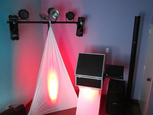 alquiler de luces y sonido para eventos familiares y empresa
