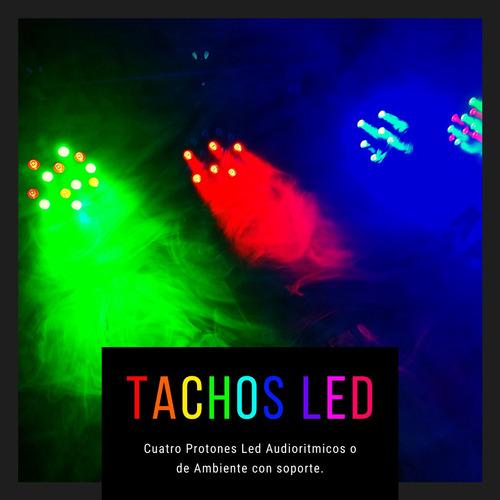 alquiler de luces y sonido para eventos pequeños