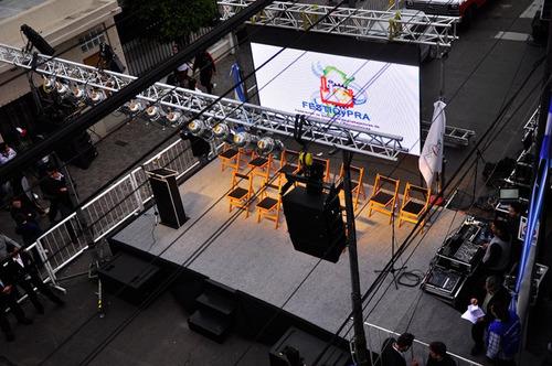 alquiler de luces y sonido para eventos sociales y empresari