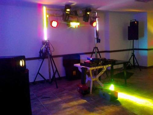 alquiler de luces y sonido profesionales