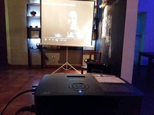 alquiler de luces,humo,karaoke,livings,gazebos,proyector