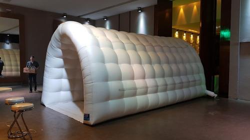 alquiler de mangas y túneles inflables air jump genuinos