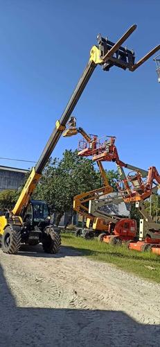 alquiler de manipulador telescopico 10mts 3500kg