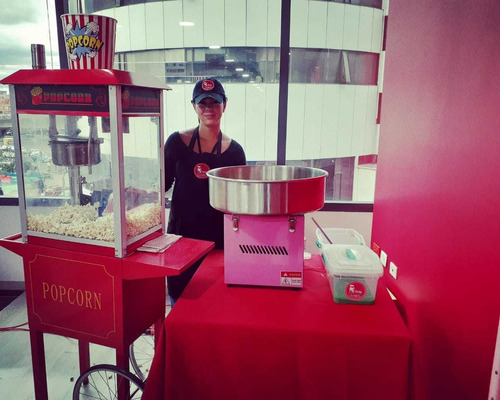 alquiler de máquina de crispetas,palomitas,algodon de azucar