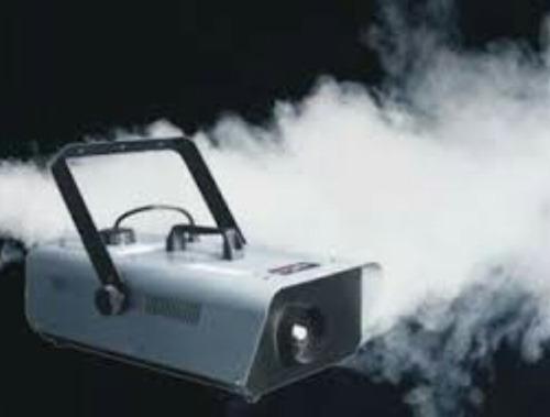 alquiler de maquina de humo