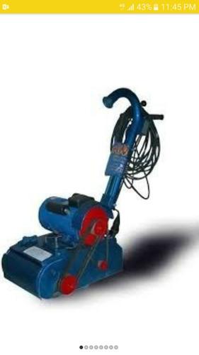 alquiler de maquina para pulir pisos de parquet