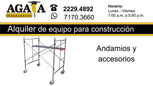 alquiler de maquinaria construcción