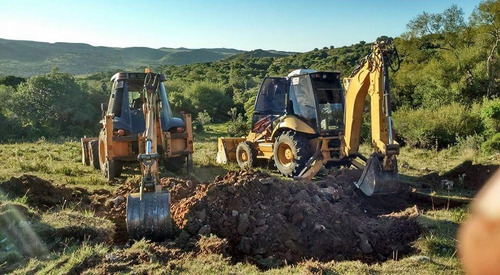 alquiler de maquinaria, ejecucion de tajamares, excavaciones