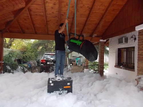 alquiler de maquinas de espuma/nieve/profesional