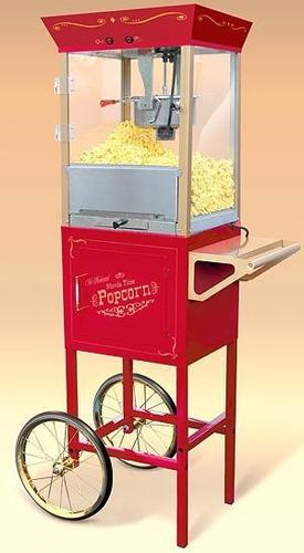 alquiler de máquinas de palomita y algodón de azúcar.